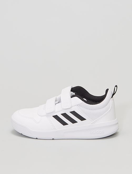 - Zapatillas sintéticas 'Adidas Tensaur C'                             BLANCO