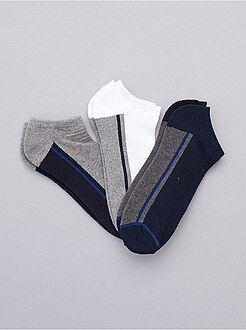 Calcetines - 3 pares de calcetines invisibles deportivos - Kiabi