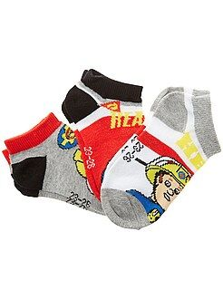 Calcetines - 3 pares de calcetines 'Sam el bombero' - Kiabi