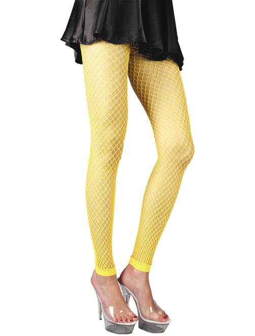 Accesorio de legging flúor                                         amarillo flúor