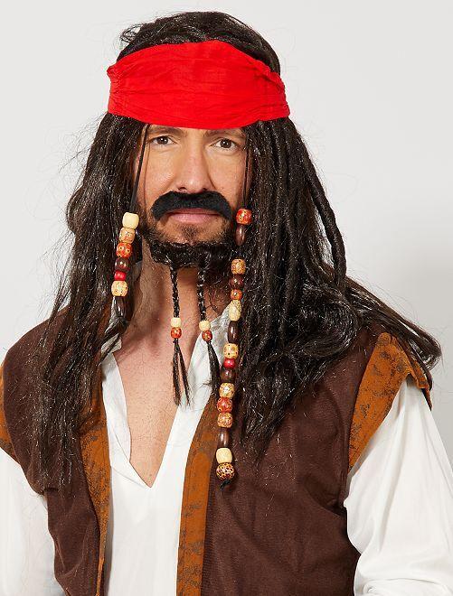 Accesorios de pirata                             negro Accesorios