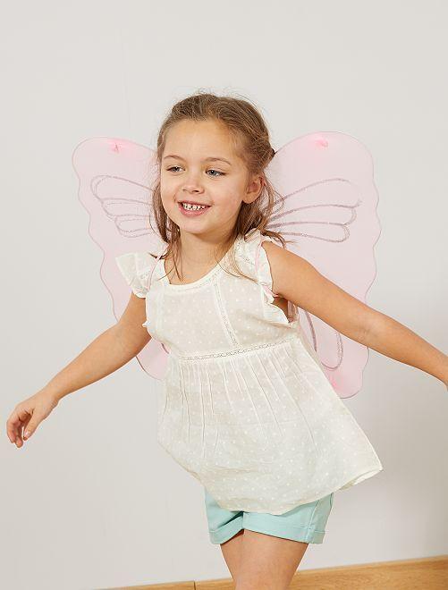 Ala de mariposa                             blanco Niños