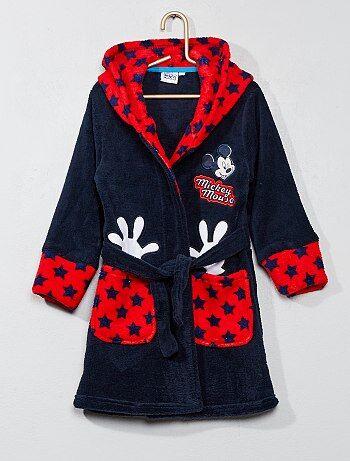 Albornoz de tejido polar 'Mickey' - Kiabi