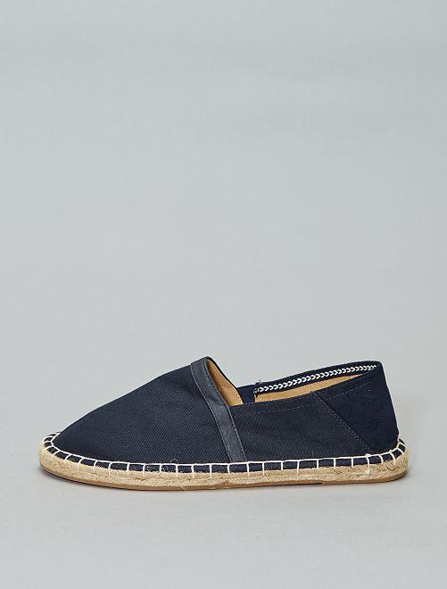 Alpargatas elásticas                                 azul navy Zapatos