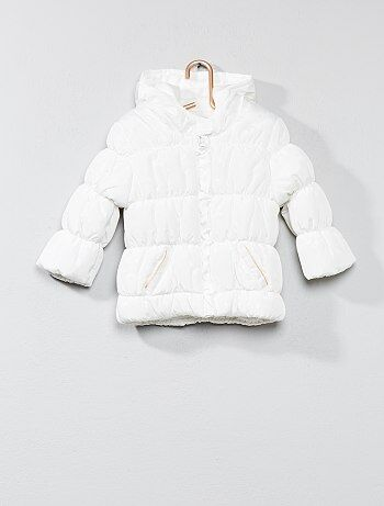 Anorak acolchado con forro de tejido polar - Kiabi