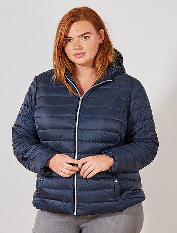 cf412a70b38 Rebajas abrigos y cazadoras en tallas grandes de mujer baratas ...