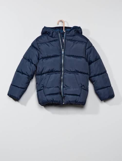 Anorak con capucha                                                                             azul Chico