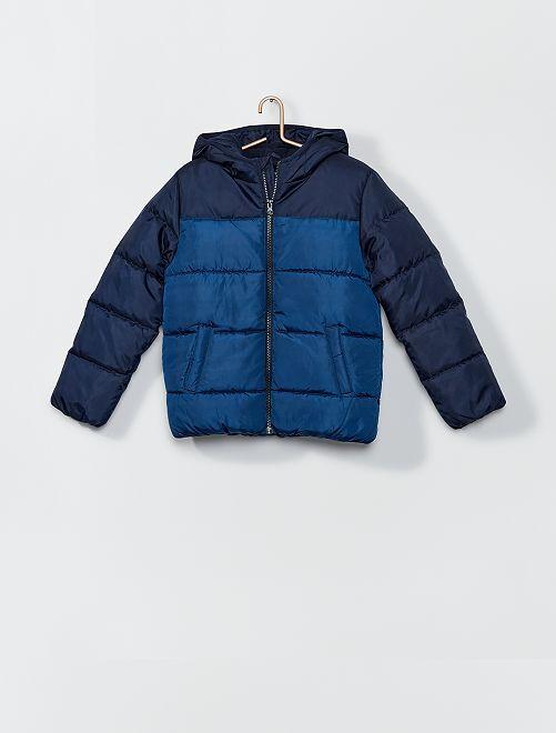 Anorak con capucha                                                                 azul