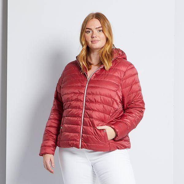 Anorak Eco Concepcion Tallas Grandes Mujer Rojo Kiabi 25 00