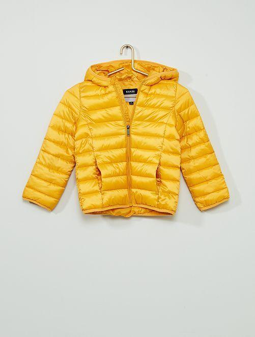 Anorak ligero acolchado                                                                 amarillo