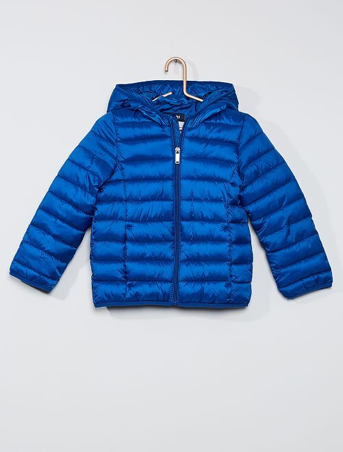 Anorak ligero acolchado                     azul