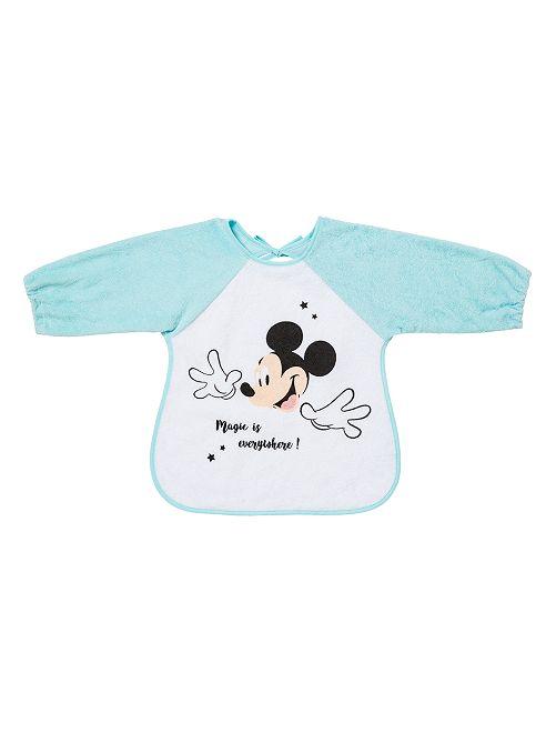 Babero con mangas 'Mickey Mouse'                                         azul