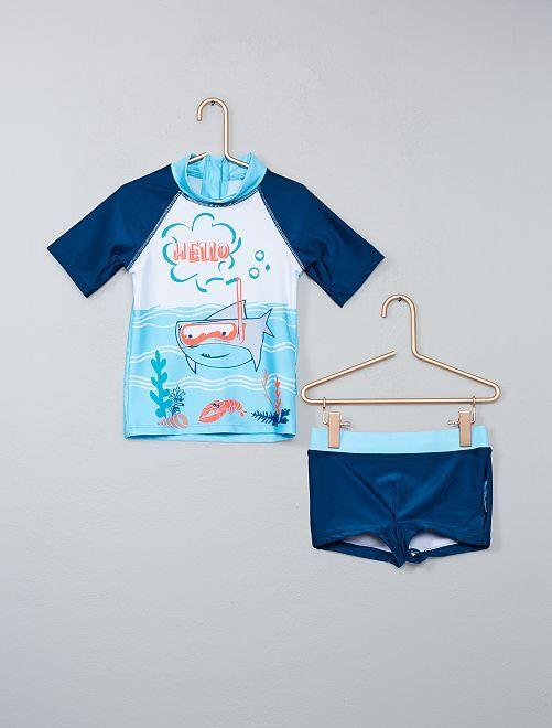 Bañador anti UV 'Petit Beguin'                             azul Chico