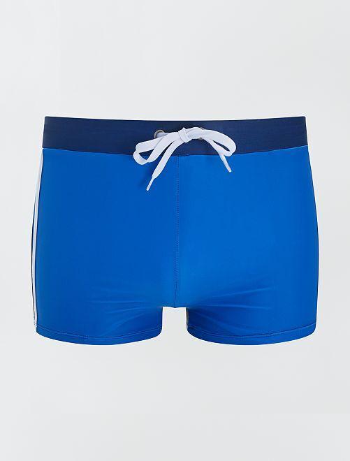 Bañador tipo boxer                             azul