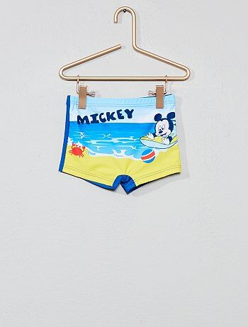 bf507ef8a00 Niño 3-12 años - Bañador tipo boxer elástico  Mickey   Disney