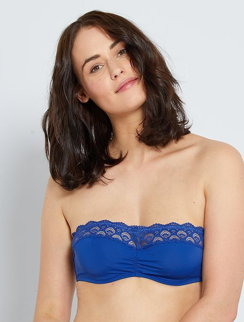 Bandeau con aros                                                                 azul