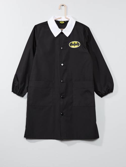 Bata escolar de popelina 'Batman'                             negro Chico