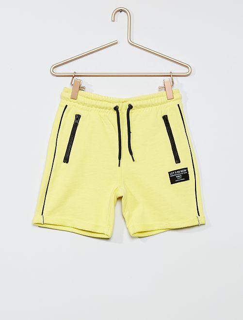 Bermudas bicolores                                                                                                                 amarillo