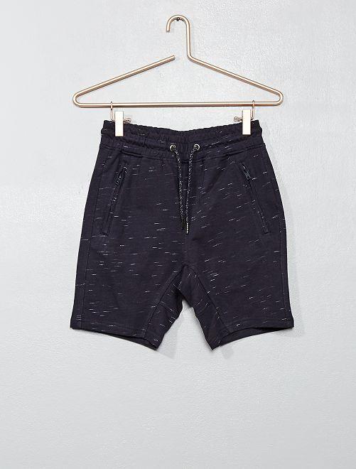 Bermudas con bolsillos con cremallera                     azul oscuro Joven niño