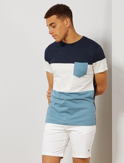 Bermudas con cordones ajustables                     blanco Hombre