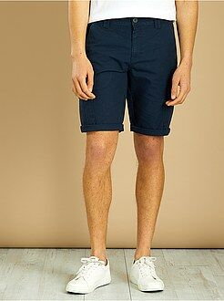 Hombre - Bermudas de algodón estilo cargo - Kiabi