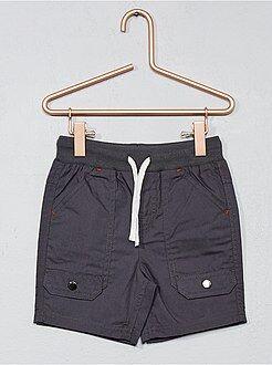 Shorts, bermudas - Bermudas de popelina con múltiples bolsillos - Kiabi
