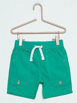 Shorts, bermudas - Bermudas de popelina