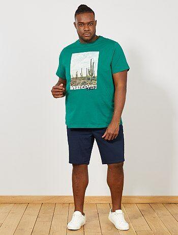 822a544b Rebajas zapatos y ropa de tallas grandes para hombre | Kiabi
