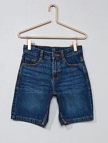 Niño 3-12 años - Bermudas rectas de algodón puro - Kiabi