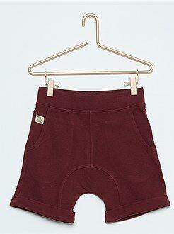 Bermudas, shorts - Bermudas sarouel de algodón