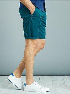 Hombre Bermudas tipo chino de sarga
