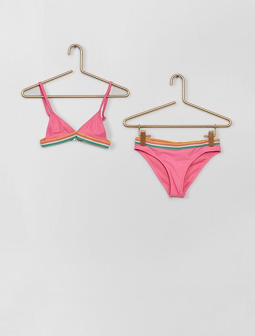 Bikini con banda elástica                                         ROSA