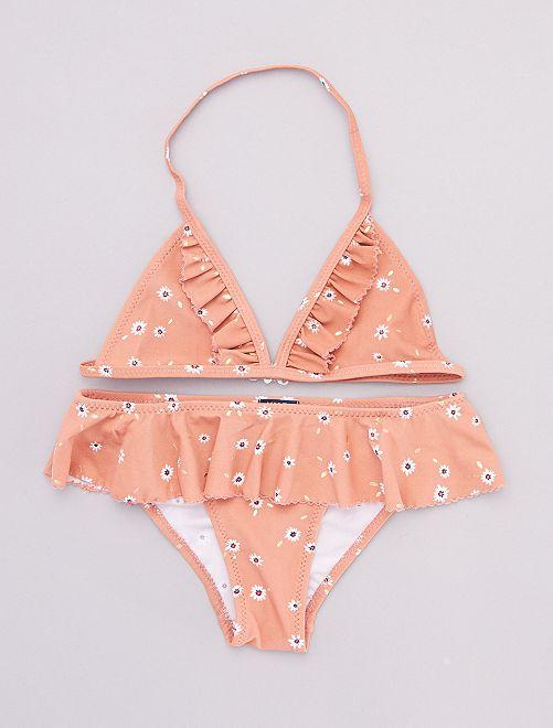 Bikini de flores                             ROSA