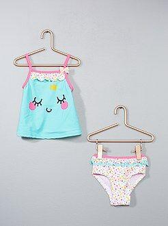 Niña 0-36 meses - Bikini 'Petit Béguin' - Kiabi