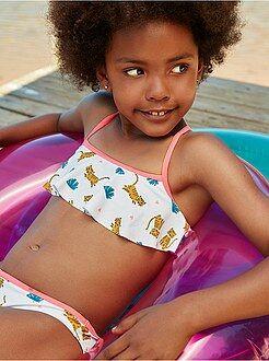 Bañadores, playa - Bikini 'Tigre' - Kiabi