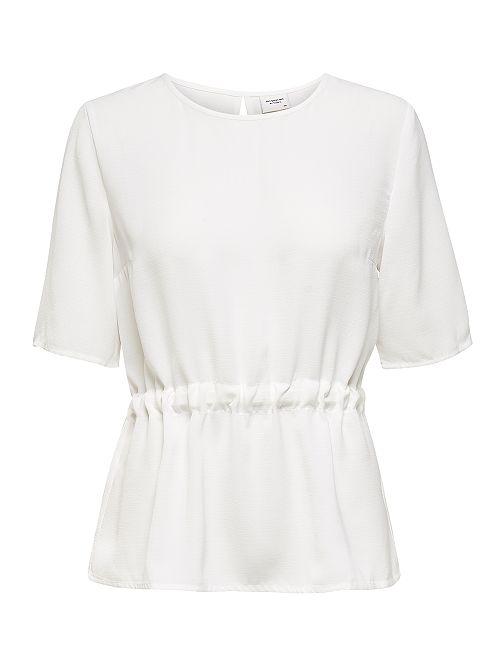 Blusa con cintura ajustada 'JDY'                                         blanco
