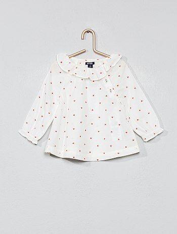 1ec163e1 Rebajas bebé niña camisas y camisetas baratas - moda Bebé niña | Kiabi