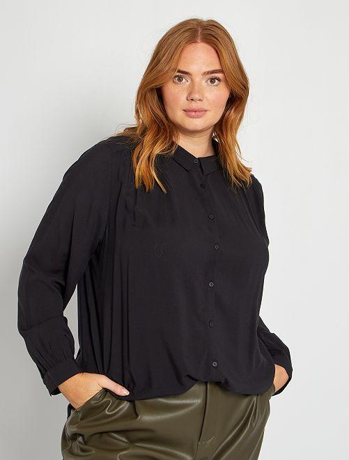 Blusa ligera                                                     negro