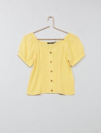 635a8ae3d Niña - ropa de niña mejor precio Camisas y blusas Niña | Kiabi