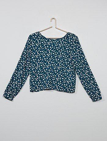 a84e23dcb Camisas y blusas Joven niña | verde | Kiabi