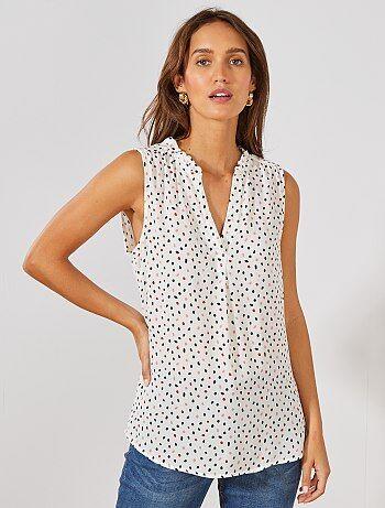 123a0cddb Rebajas tops y blusas de Mujer | Kiabi