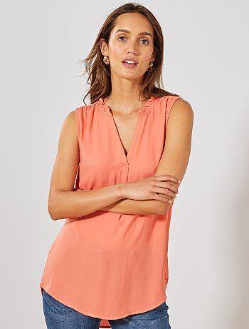 26a0a336d75 Rebajas tops y blusas de Mujer | Kiabi