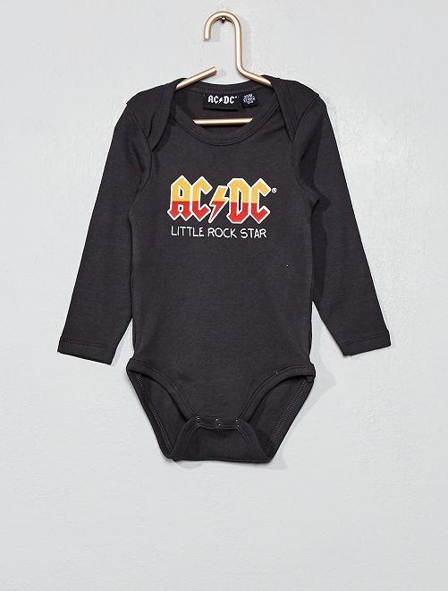 Body de punto 'AC/DC'                             GRIS