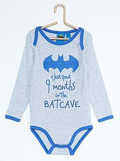 Body estampado 'Batman' - Kiabi