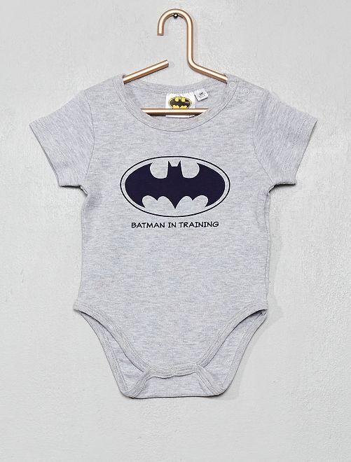 Body estampado 'Batman'                                                     gris chiné