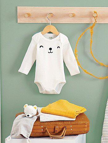Niña 0-36 meses - Body estampado de algodón orgánico - Kiabi 7ac38d546fdc