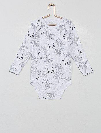 c07a3945d Niño 0-36 meses - Body estampado 'Eco-concepción' - Kiabi