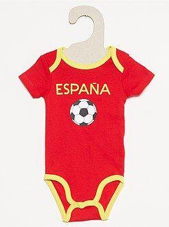 Body estampado 'Eurocopa 2016' España