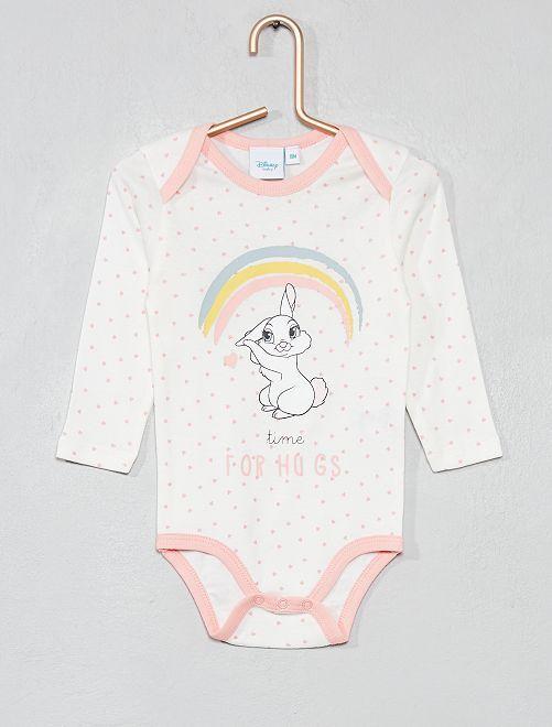 Body 'Simba' de 'Disney'                                         BLANCO Bebé niña