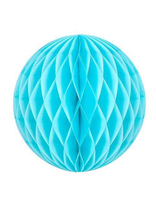 Bola de papel alveolada 12 cm                                                                     AZUL